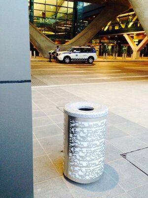 Proyecto Qatar 2 - corte por láser en aluminio