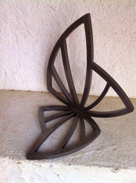 Proyecto cortado por láser y soldado para el escultor Quique Buxeda